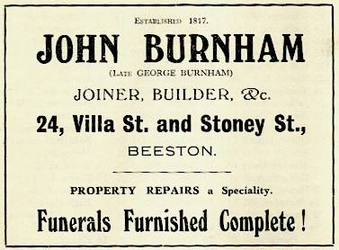 Burnham Advert