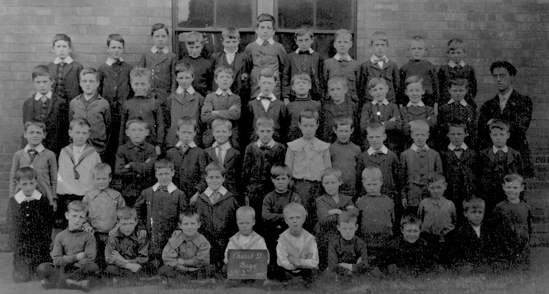 Church St Boys 1914