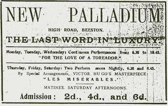Palladium advert