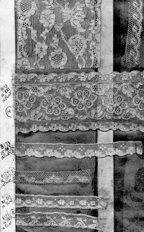 Lace pattern book